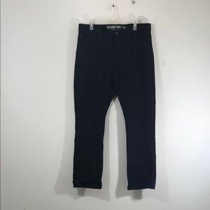 Mossimo Supply Co. Black Broken In Jeans W34 L30